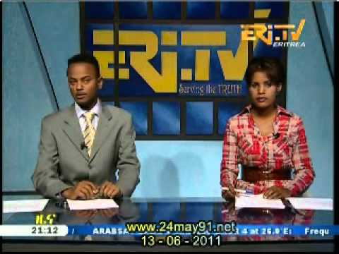 Eritrea - LIVE EriTV Tigrinya News from 13- 06-2011