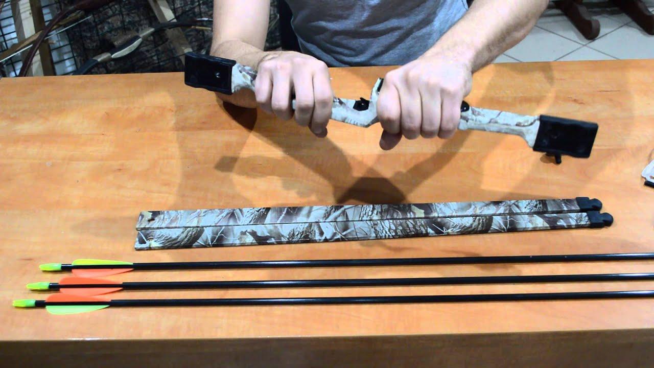 Стрелы из стекловолокна своими руками