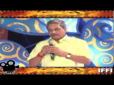 Defence Minister Shri Manohar Parrikar's address at inaugural ceremony of the 45th IFFI-2014