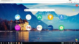 Customize your Google chrome browser homepage with cool theme