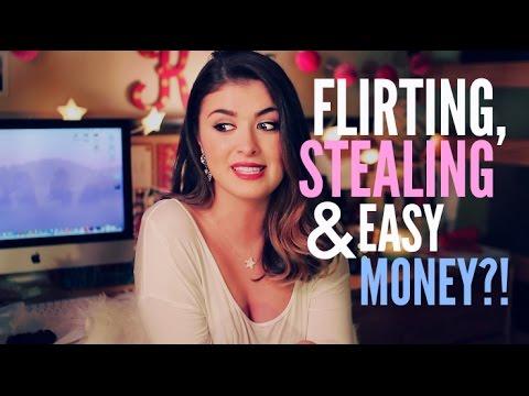FLIRTING, STEALING & EASY MONEY? | January Q&A