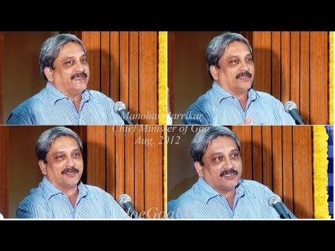 Parrikar on Special Status for Goa