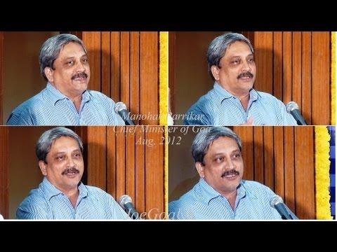 Parrikar on Special Status for Goa