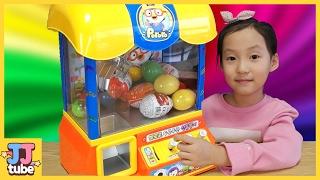 뽀로로 선물뽑기 겨울왕국 도리를찾아서 시크릿쥬쥬 서프라이즈에그 장난감 뽑기 Pororo Toy  [제이제이튜브  - JJ tube]