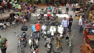 Khám phá CHỢ ĐỒ CỔ, XE XƯA lớn nhất Sài Gòn