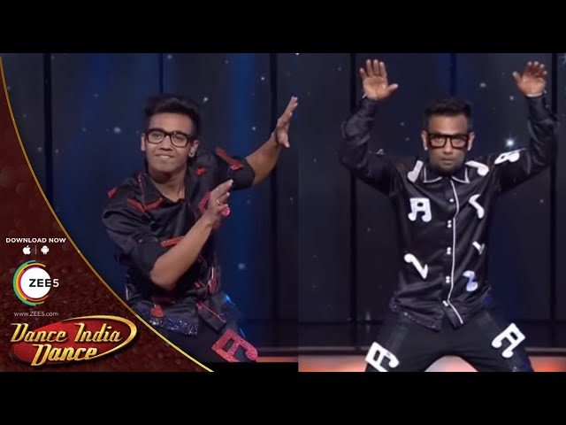 Dance India Dance Season 4  February 09, 2014 - Shyam & Dharmesh's Performance