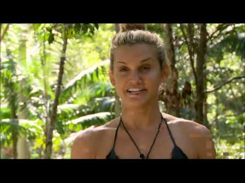 Ashley Roberts & Helen Flanagan's Dingo Dollar Challenge on I'm a Celebrity Get Me Out of Here 2012