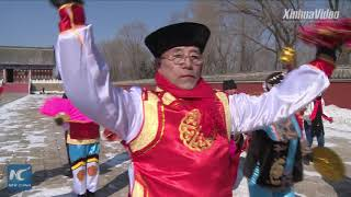 How do Manchu people celebrate Lunar New Year?