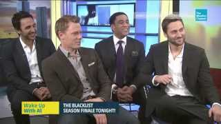 Ryan Eggold, Diego Klattenhoff, Amir Arison and Harry Lennix - WUWA