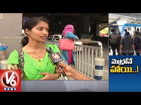Hyderabad Metro Rail Ridership Raised In Monsoon Season | V6 News