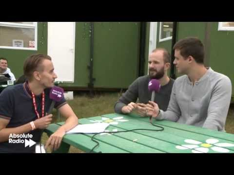 White Lies interview at Latitude Festival 2012