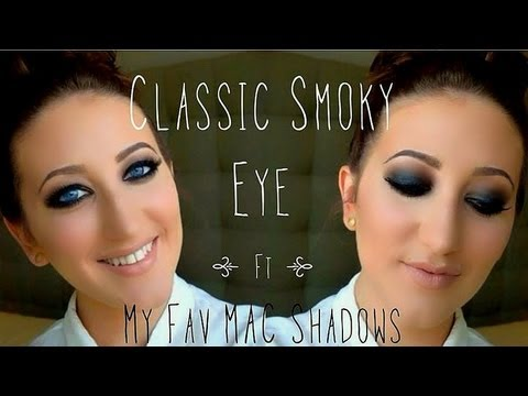 Makeup Tutorial   Classic Smokey Eye ft. My Favorite MAC Eyeshadows
