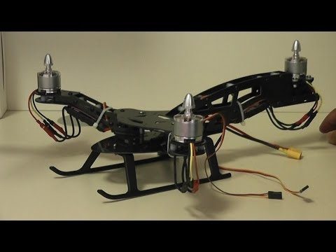 HJ-Y3 Tricopter Review - Part 1 A look at the build
