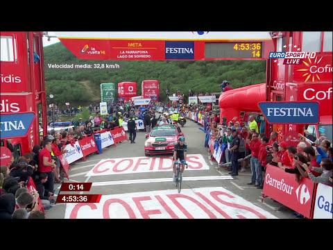 La Vuelta a España 2014 - stage 16 - finish - Full HD