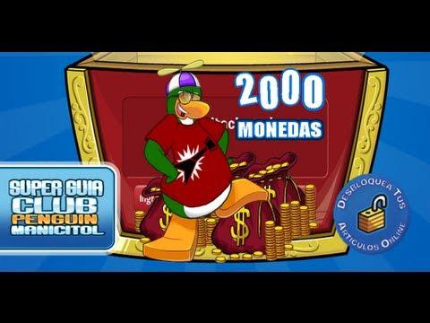 Club Penguin Códigos Reutilizables 2000 Monedas Agosto 2013