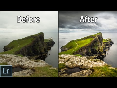 Landscape Photography Editing in Lightroom - Adobe Lightroom 6 Complete Photo Editing Tutorial