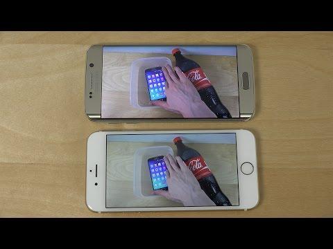Samsung Galaxy S6 Edge vs. iPhone 6 - Video Playback & Sound Test! (4K)