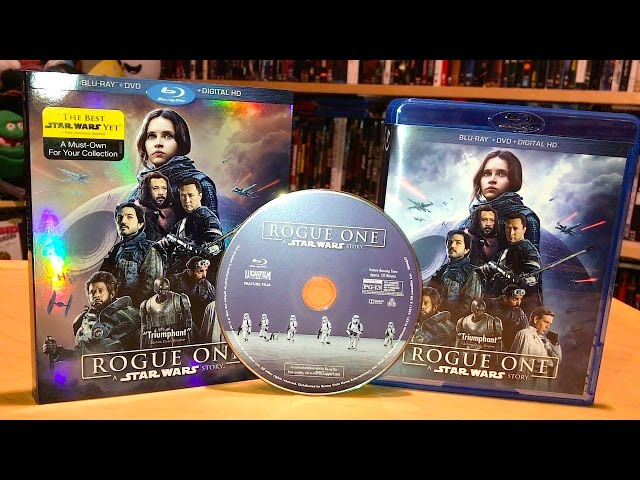 Rogue One A Star Wars Story Blu-ray Unboxing and Review