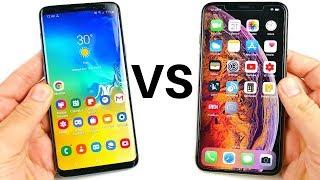 One UI vs iOS 12