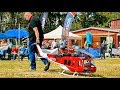 HUGE STUNNING RC BELL-205 UH-1D SCALE MODEL TURBINE HELICOPTER FLIGHT DEMONSTRATION