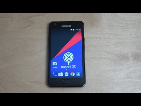 Samsung Galaxy S2 Android 5.1.1 Lollipop - Review