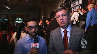 Teddy Atlas interview - UCN EXCLUSIVE