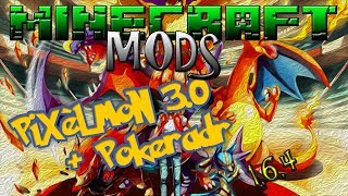 Minecraft MODS 1.6.4 - Pixelmon 3.0 + Pokeradar [+ DOWNLOAD]