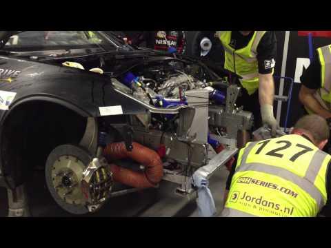 Гонка «24 часа Дубая» Nissan 370Z Repair