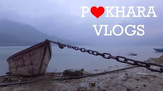 | RAINY LAKESIDE | POKHARA VLOGS