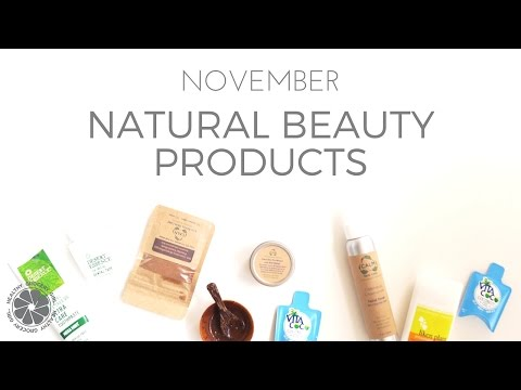 BEAUTY: November Beauty Favorites Video | Natural Beauty Haul | Healthy Grocery Girl