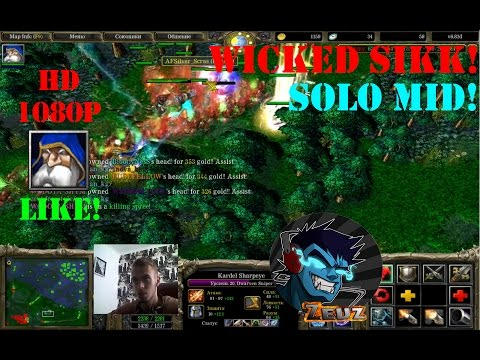 ★DoTa Sniper, Kardel Sharpeye - GamePlay | Guide★ Wicked SICK!★