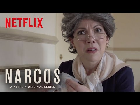 Narcos | Abuela Visits The Set | Netflix
