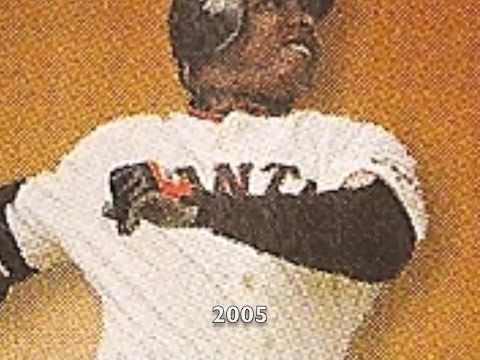 Barry Bonds Evolution- Watch him grow! Video