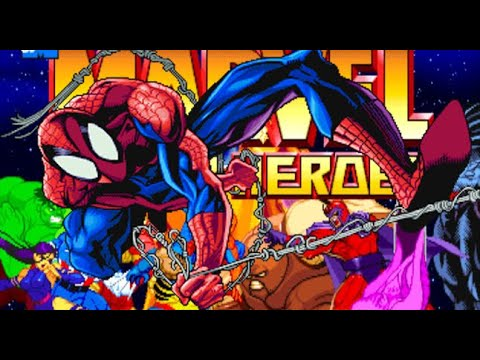 Spiderman  vs  Iron man (Marvel super heroes)