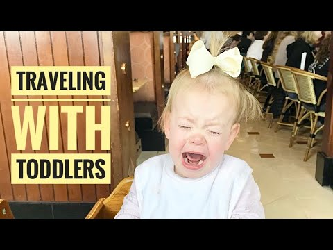 Traveling With Five Toddlers - Big Family Road Trip