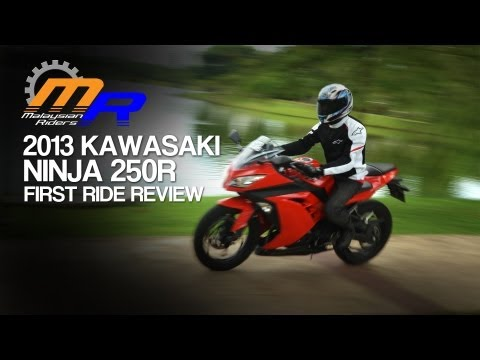 2013 Kawasaki Ninja 250R First Ride Review -- Ep.7