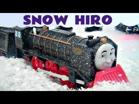 Thomas The Train Snow Clearing Hiro Trackmaster Kids Toy Train Set Thomas The Tank Engine