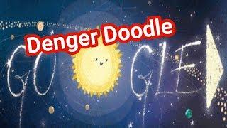 गेमिनीद मेटेओर शावर । Geminid meteor shower google doodle ।