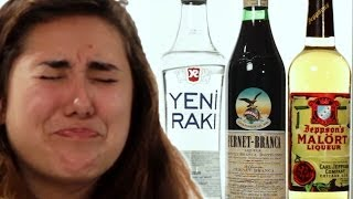 Americans Taste International Alcohols