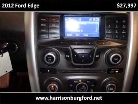 2012 Ford Edge Used Cars Harrisonburg VA