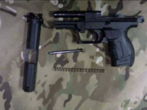 Disassembly Walther P22 Walther P22 Takedown