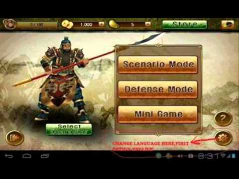 The Heroes of Three Kingdoms v1.0[English version] | 149 MB | Android 2.2 +