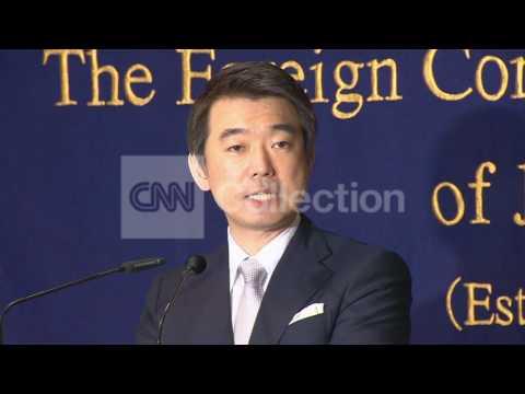 JAPAN OSAKA MAYOR APOLOGIZES COMFORT WOMEN