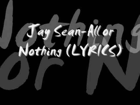 Jay Sean-All or Nothing NEW