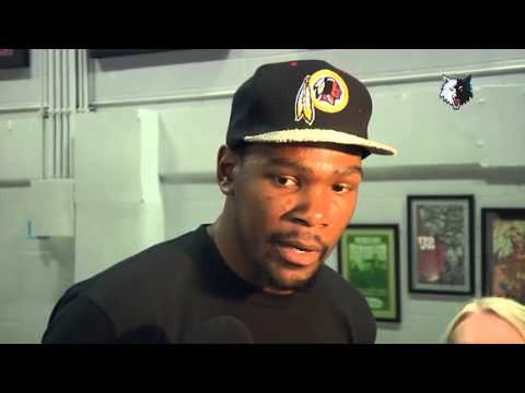 Kevin Durant discusses Tornado