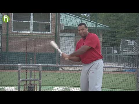 La mejor manera de hacer un swing - Carlos Lee