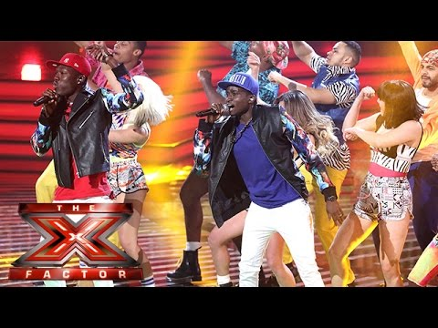 Shut Up And Dance With Reggie 'N' Bollie | Live Week 4 | The X Factor 2015