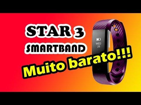 Star 3 smartwatch bracelet relógio inteligente