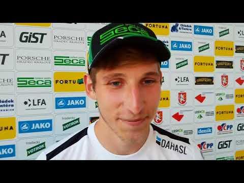 René Kropáček se podělil o emoce vítězném utkání nad Znojmem