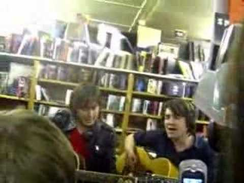 Dirty Pretty Things; Bang Bang You're Dead (acoustic)
